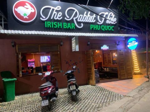 The Rabbit Hole Irish Bar | Live Music and Sports Bar Phu Quoc Exterior