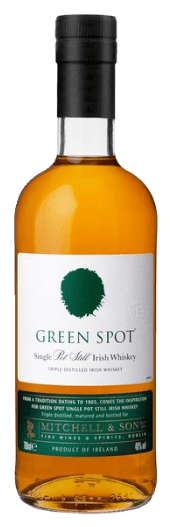 GreenSpot Irish whiskey